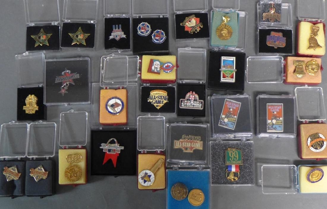 Grouping of All Star Press Pins