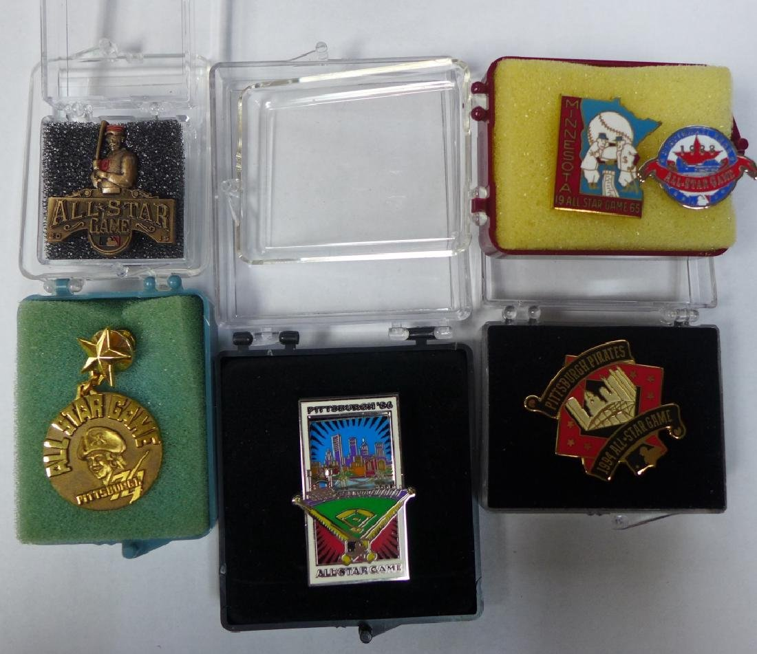 Grouping of All Star Press Pins - 3