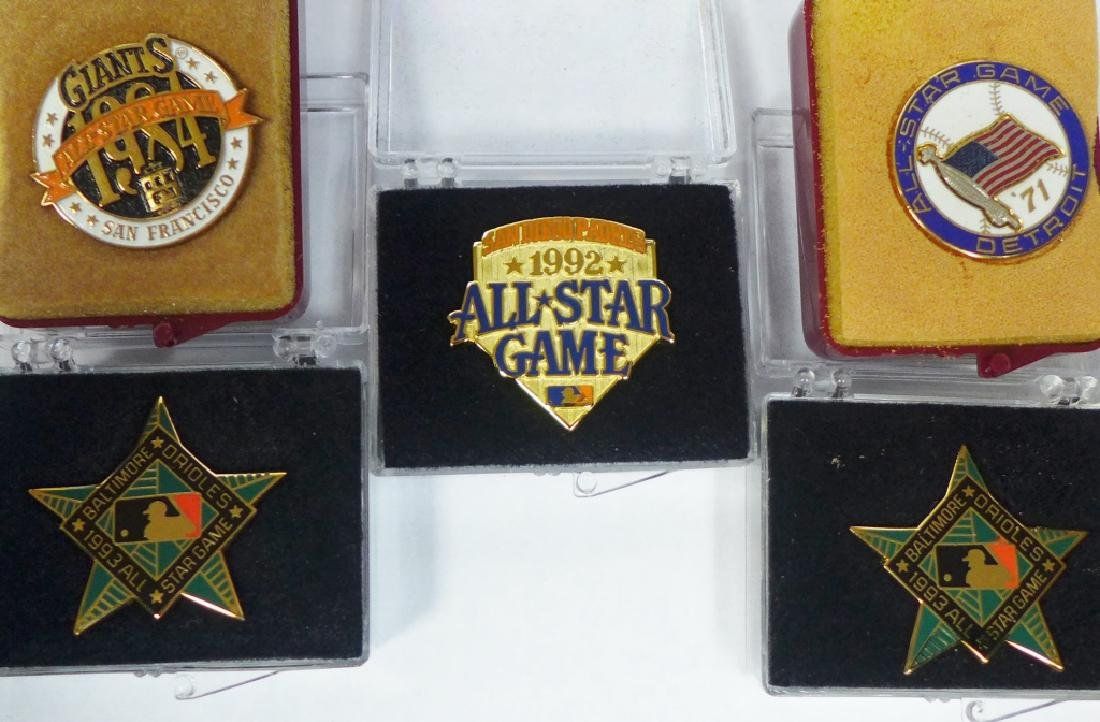 Grouping of All Star Press Pins - 6