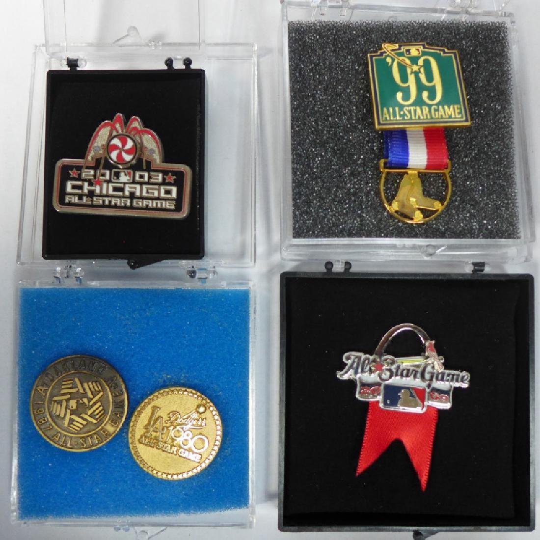 Grouping of All Star Press Pins - 7