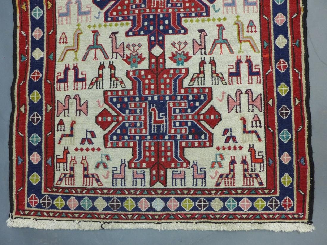 Vintage Turkish Soumak Rug - 2