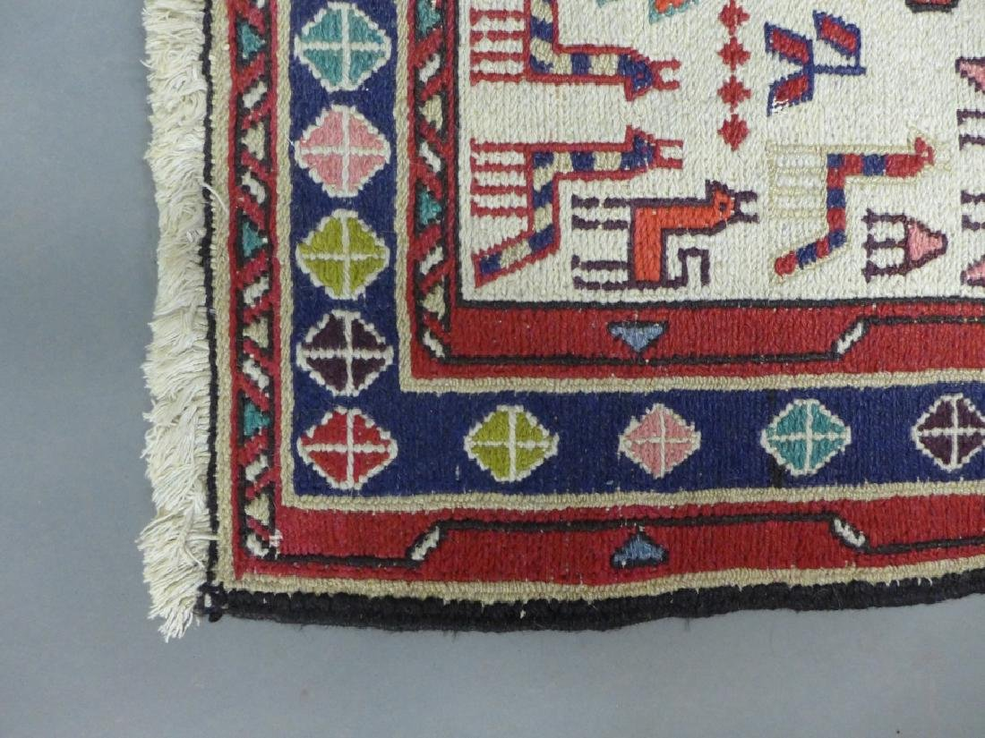 Vintage Turkish Soumak Rug - 4