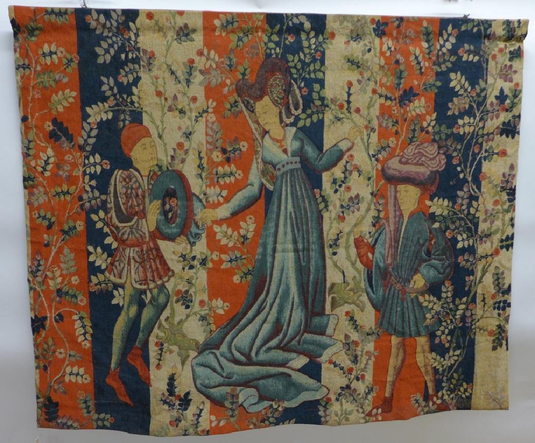 French Aubusson Tapestry, Robert Four - 10