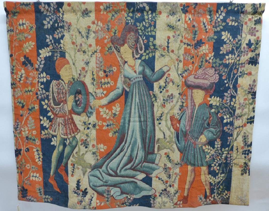 French Aubusson Tapestry, Robert Four