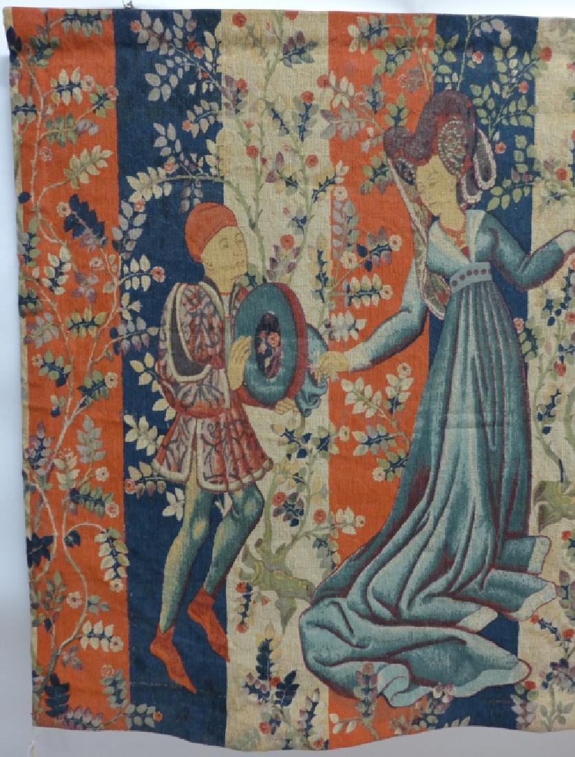 French Aubusson Tapestry, Robert Four - 2