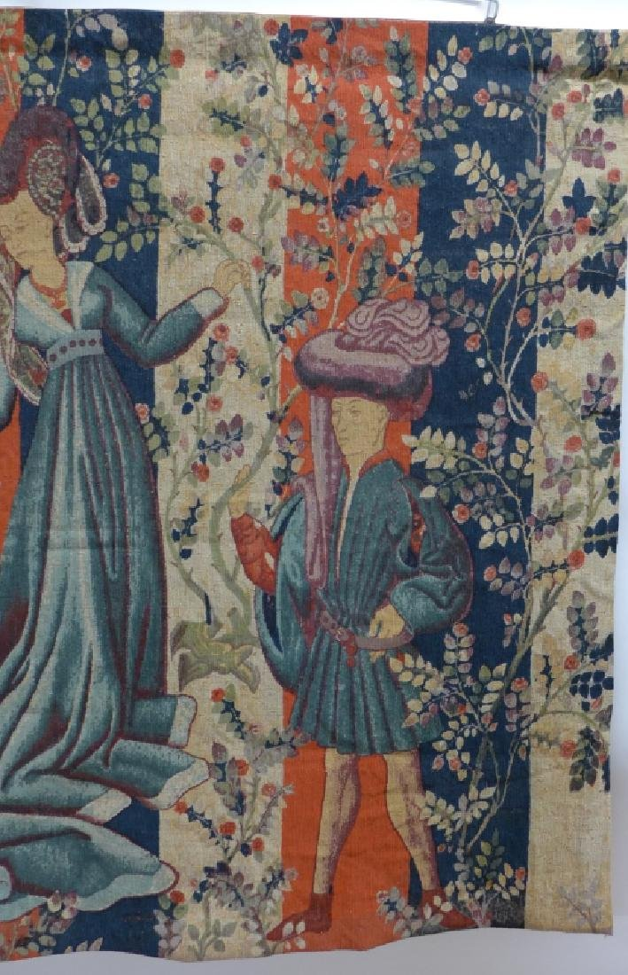 French Aubusson Tapestry, Robert Four - 3