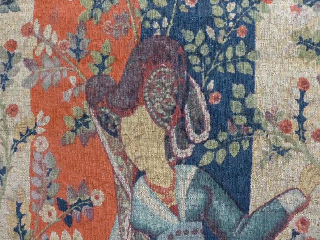 French Aubusson Tapestry, Robert Four - 4