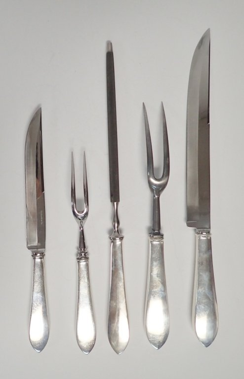 Tiffany & Co. Silver Carving Pieces - 10