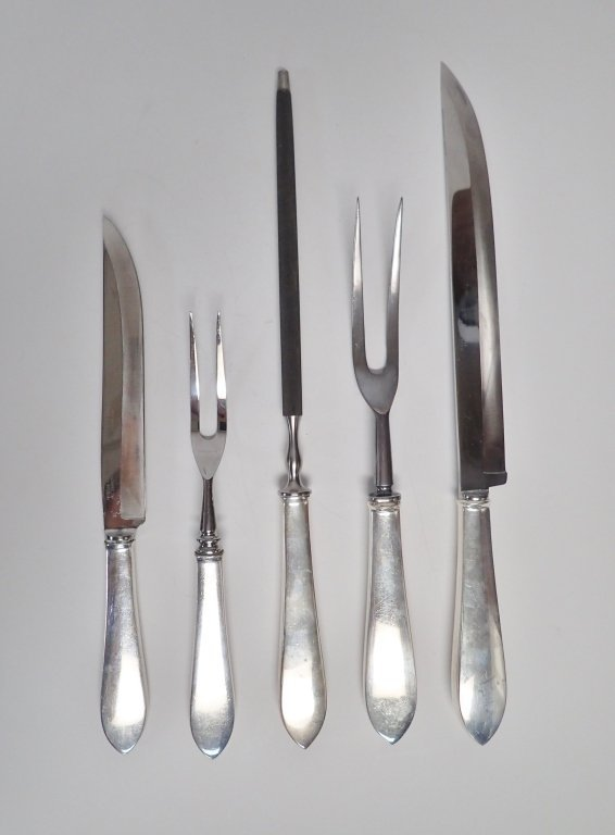 Tiffany & Co. Silver Carving Pieces