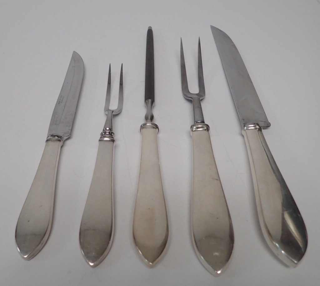 Tiffany & Co. Silver Carving Pieces - 2