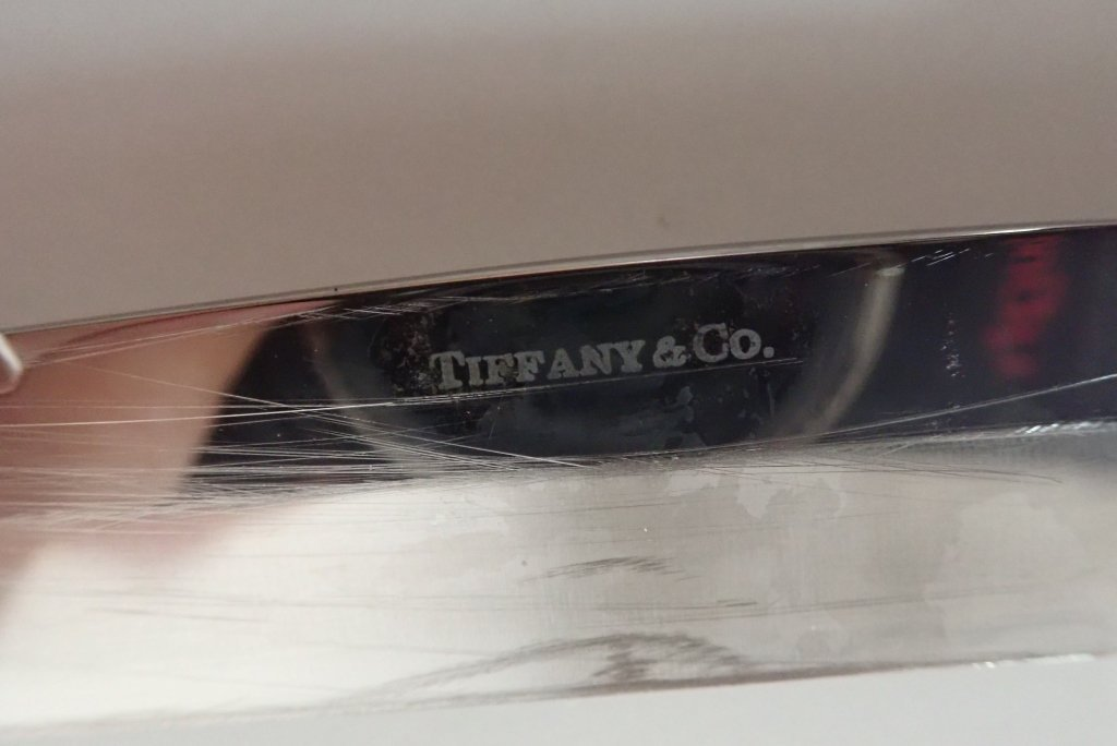 Tiffany & Co. Silver Carving Pieces - 9