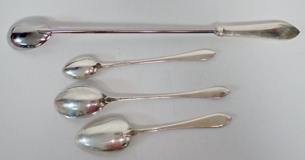 Tiffany & Co. Sterling Spoon Assortment - 3