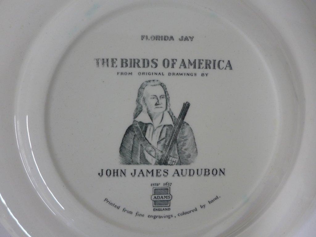 John James Audubon Hand Colored Decorative Plates - 3