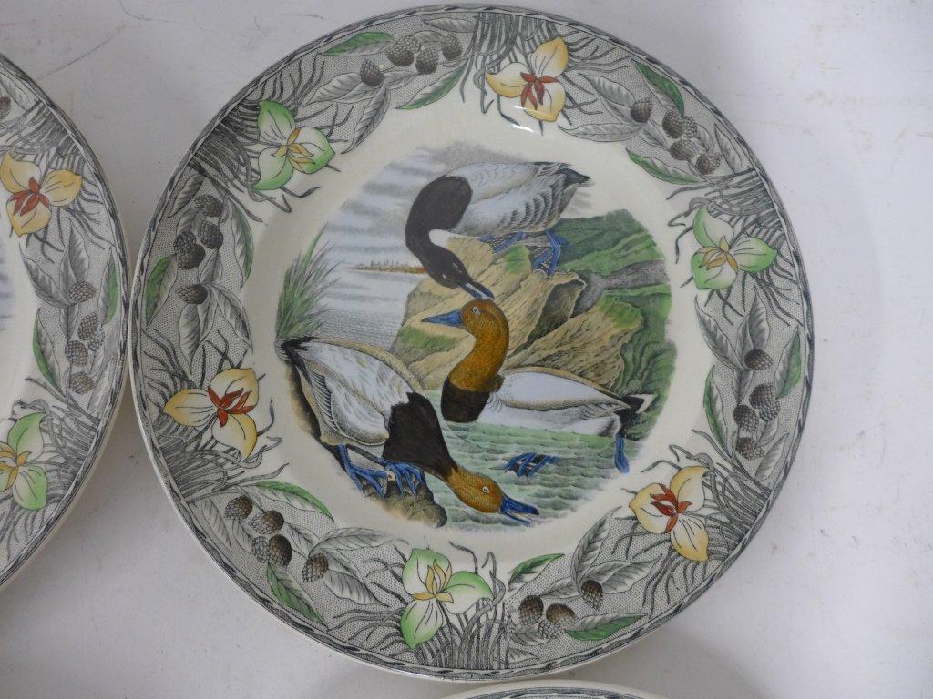 John James Audubon Hand Colored Decorative Plates - 5