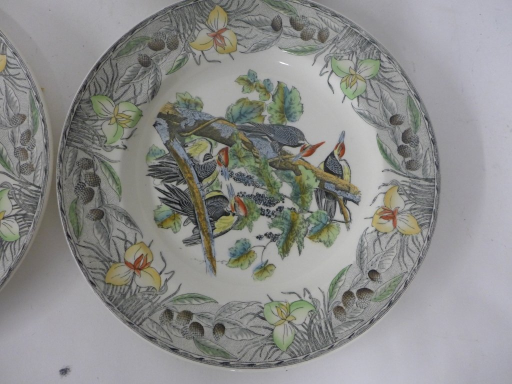 John James Audubon Hand Colored Decorative Plates - 8