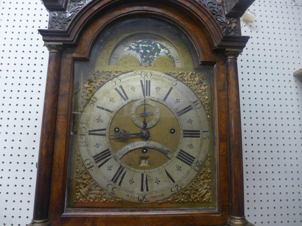 Jacob Vander Hegge Hage Grand Father Clock - 4