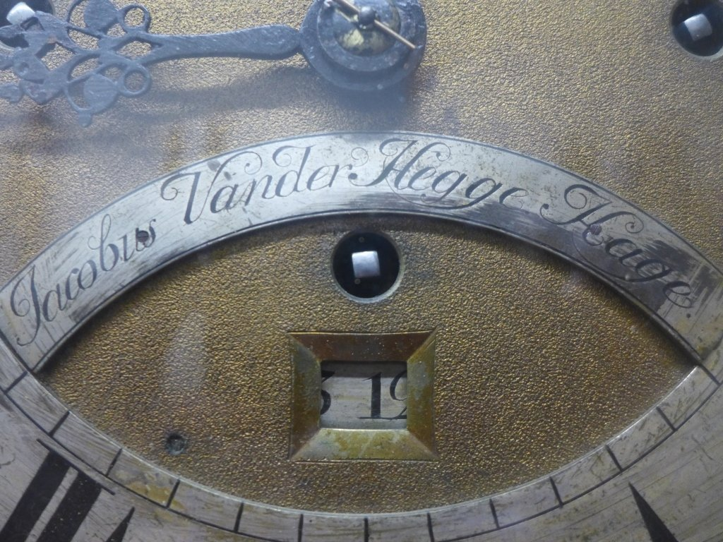 Jacob Vander Hegge Hage Grand Father Clock - 6