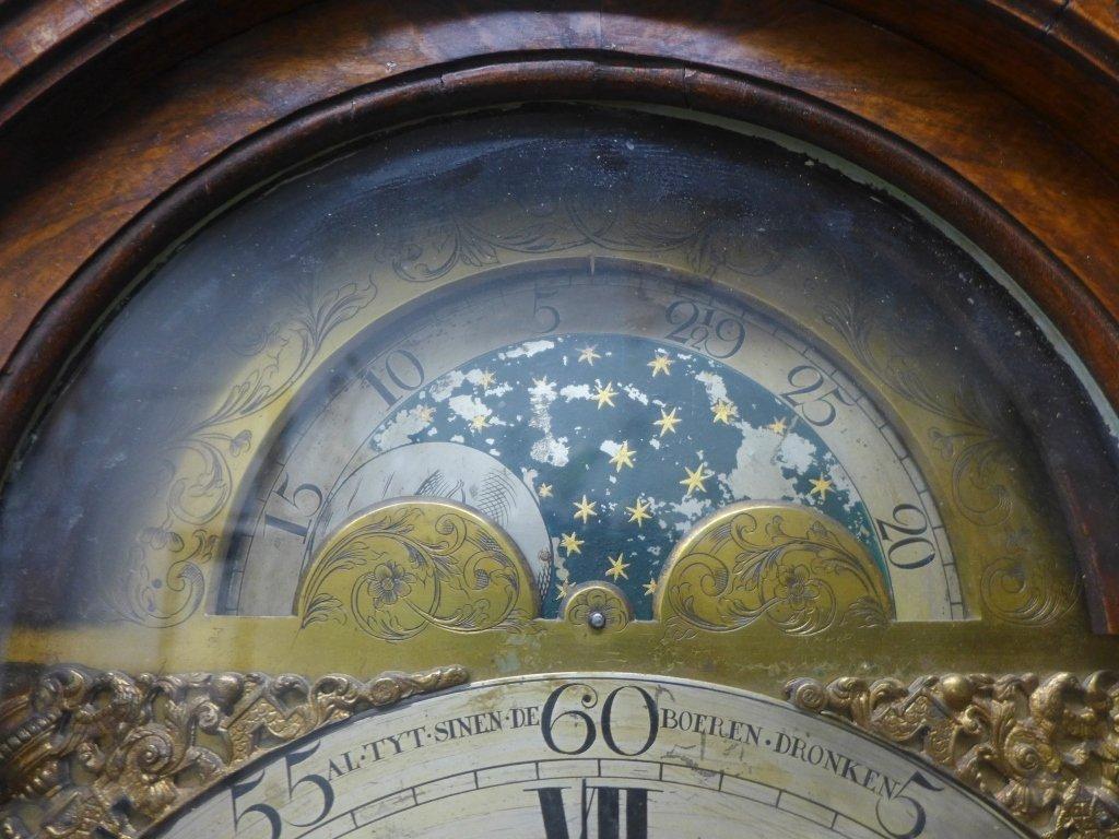 Jacob Vander Hegge Hage Grand Father Clock - 7