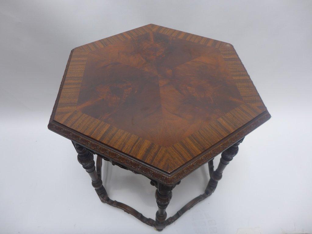 Mahogany Side Table - 2
