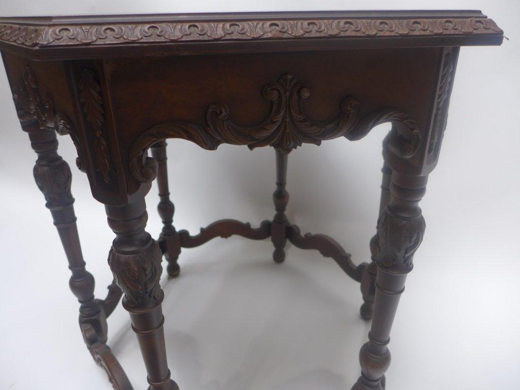 Mahogany Side Table - 3