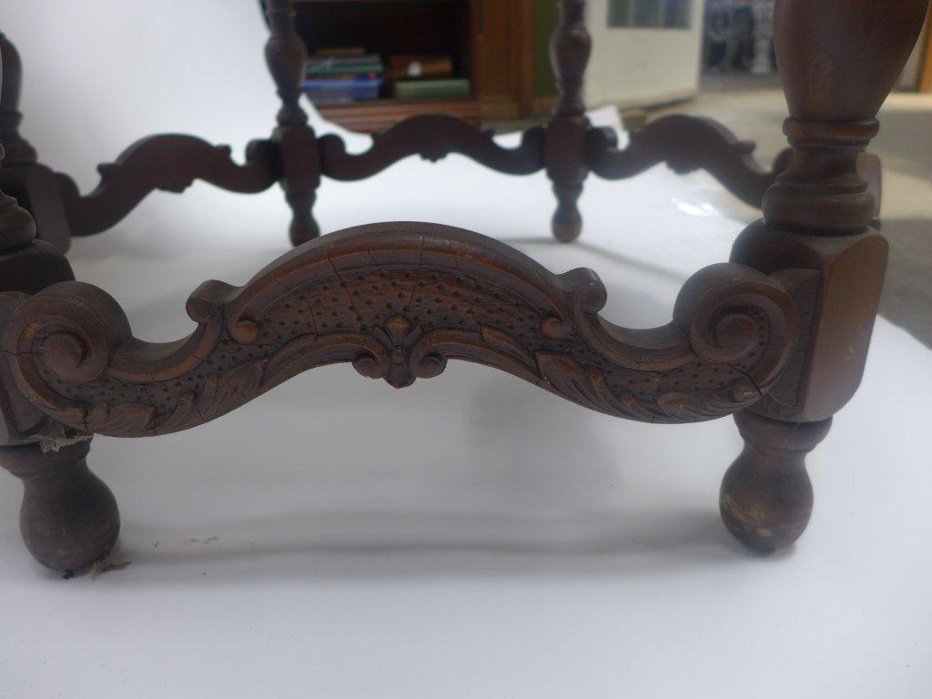 Mahogany Side Table - 5