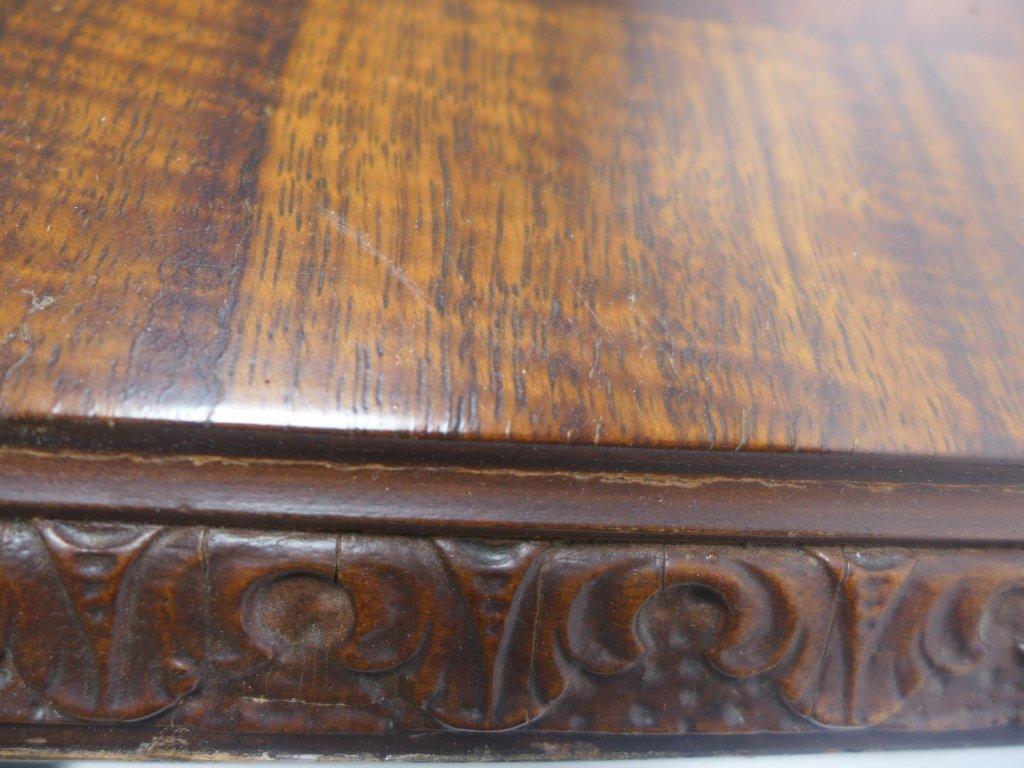 Mahogany Side Table - 6