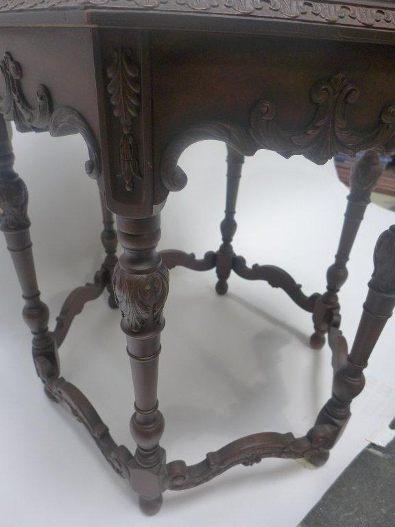 Mahogany Side Table - 7