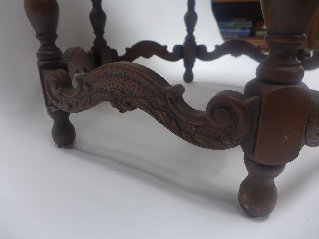 Mahogany Side Table - 8