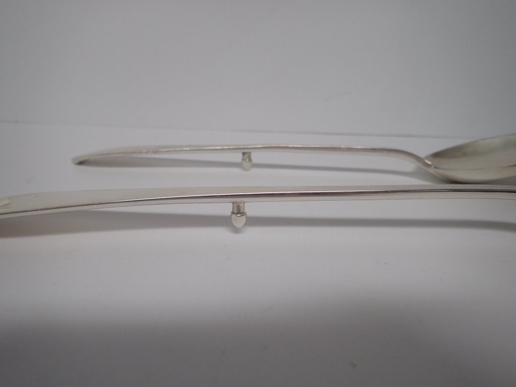 Tiffany & Co. Serving Spoon Pair in Faneuil - 4
