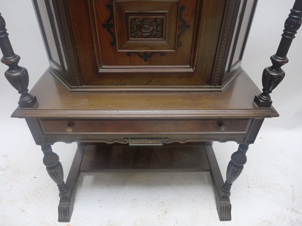 Mahogany Secretary Desk - 2