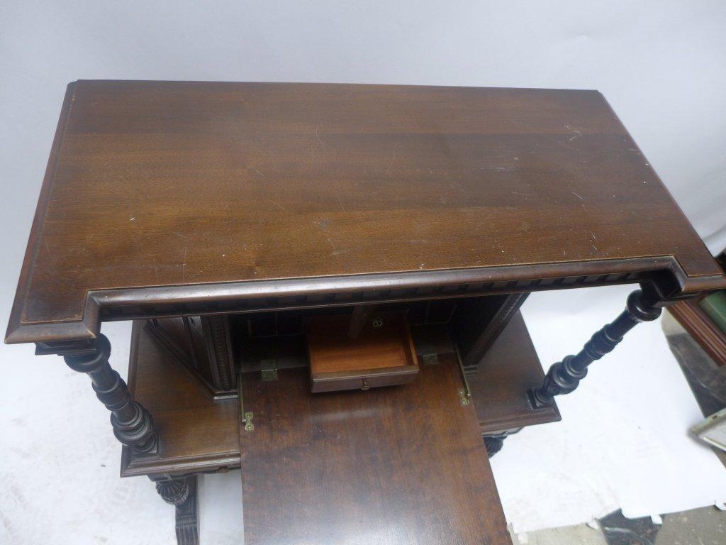 Mahogany Secretary Desk - 8