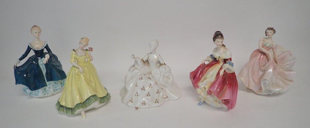 Royal Dalton Porcelain Figurine Collection - 10
