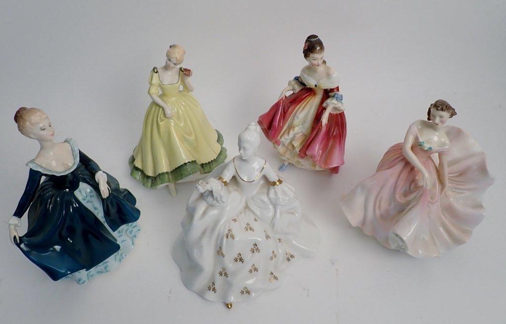Royal Dalton Porcelain Figurine Collection