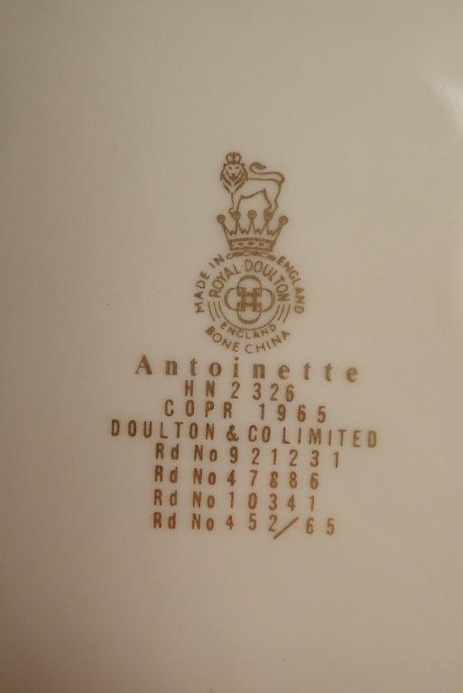 Royal Dalton Porcelain Figurine Collection - 5