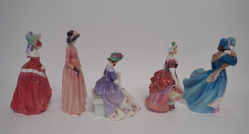 Collection of Royal Dalton Figurines - 3
