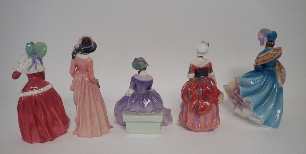 Collection of Royal Dalton Figurines - 4