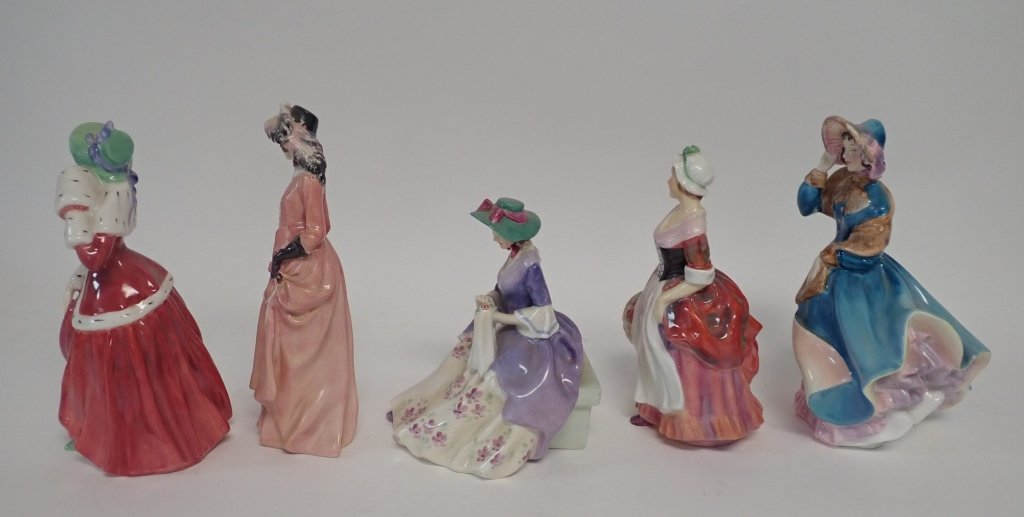 Collection of Royal Dalton Figurines - 5