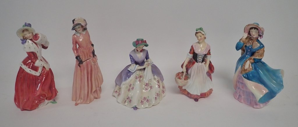 Collection of Royal Dalton Figurines - 9