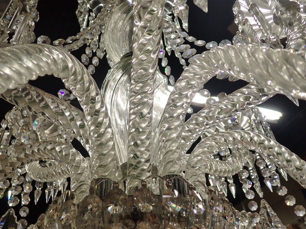 Magnificent Crystal 12 Arm Chandelier - 2