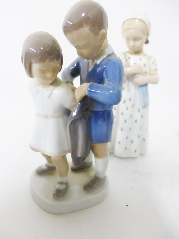 Bing & Grondahl Figurine Collection - 3