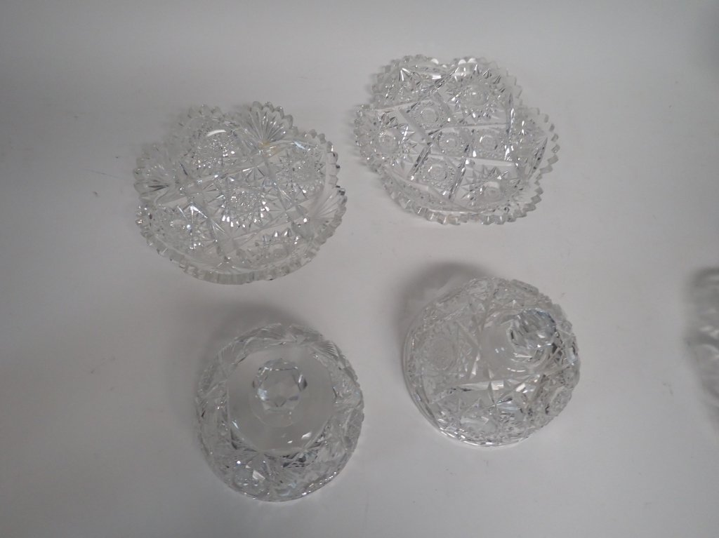15 Piece Cut Crystal Serving Ware - 6