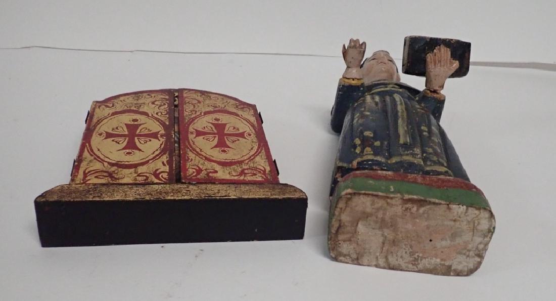Religious Wooden Icon Pairing - 10