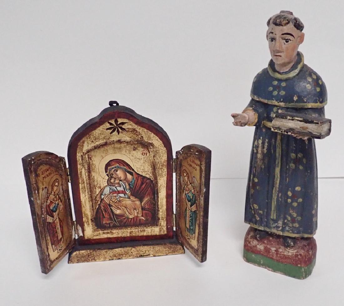 Religious Wooden Icon Pairing