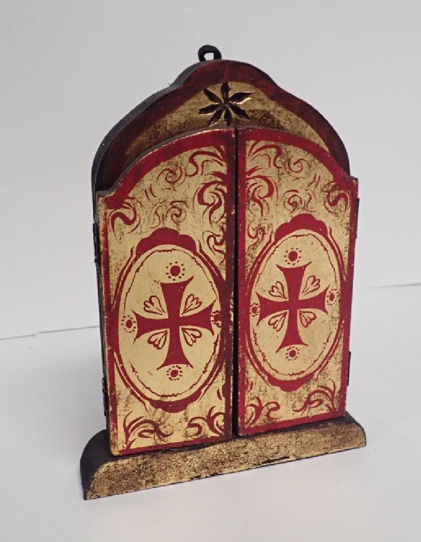 Religious Wooden Icon Pairing - 6