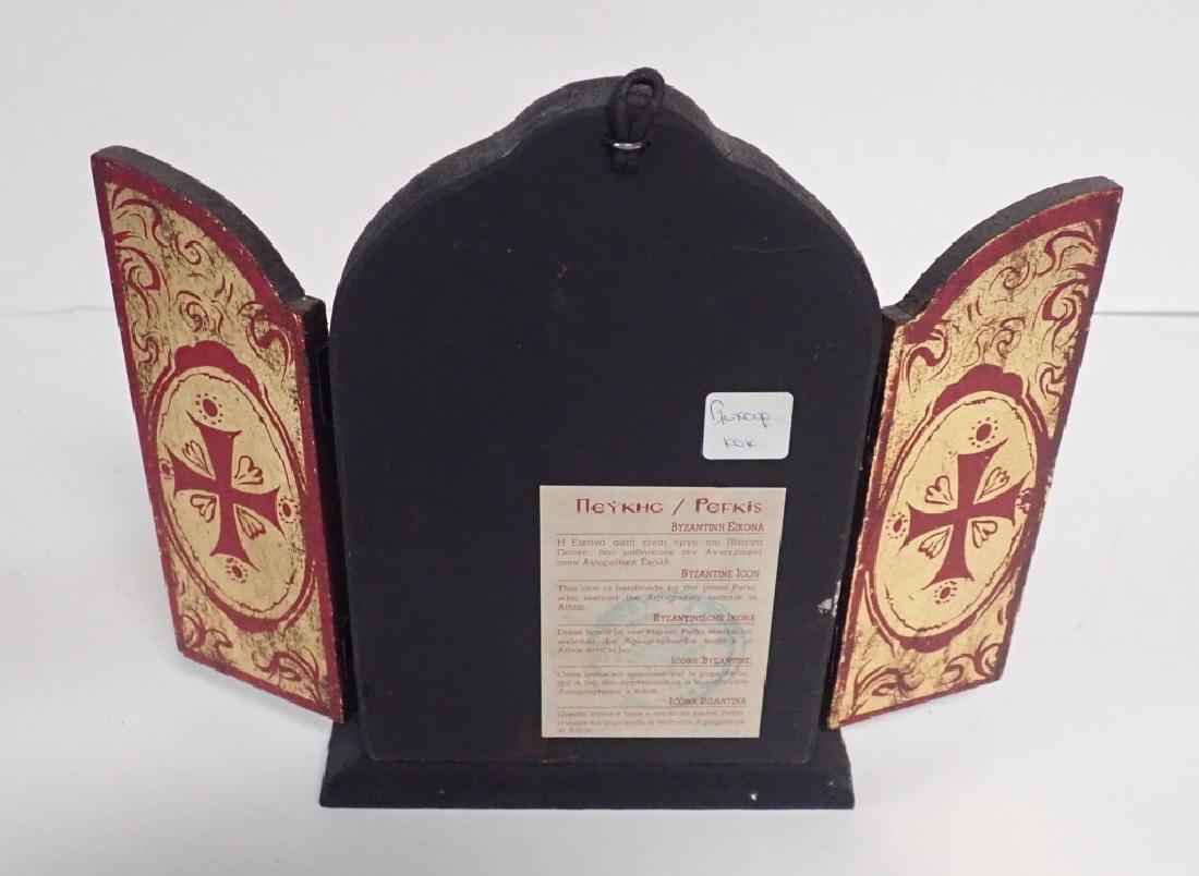 Religious Wooden Icon Pairing - 7