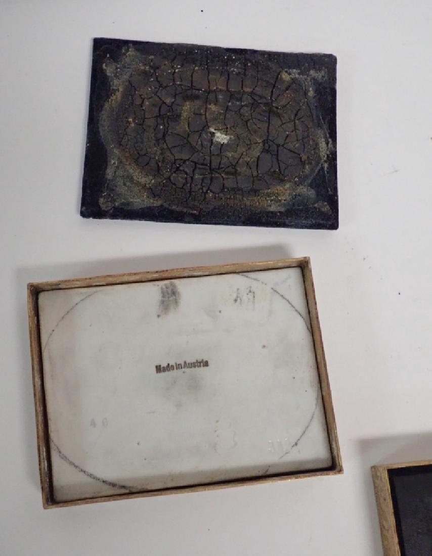 Framed Porcelain Plaque Collection - 5