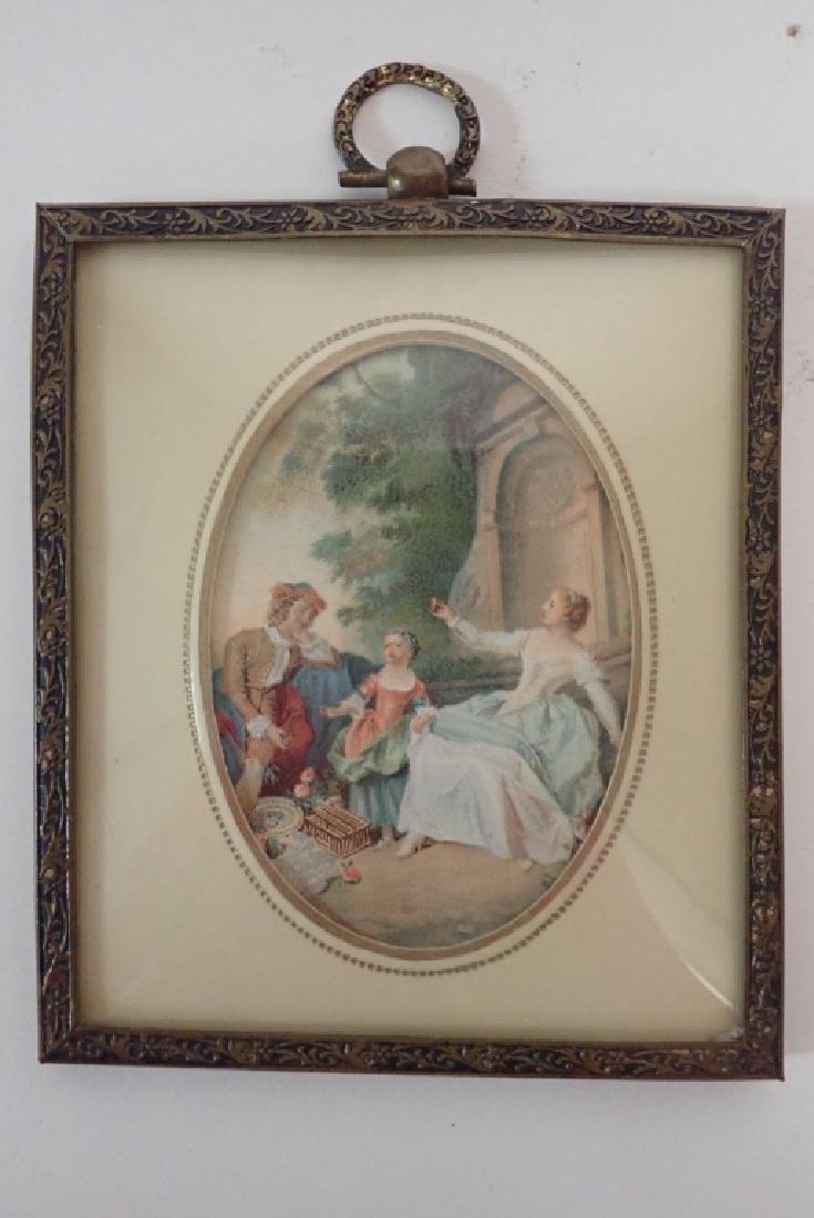 Framed Porcelain Plaque Collection - 6