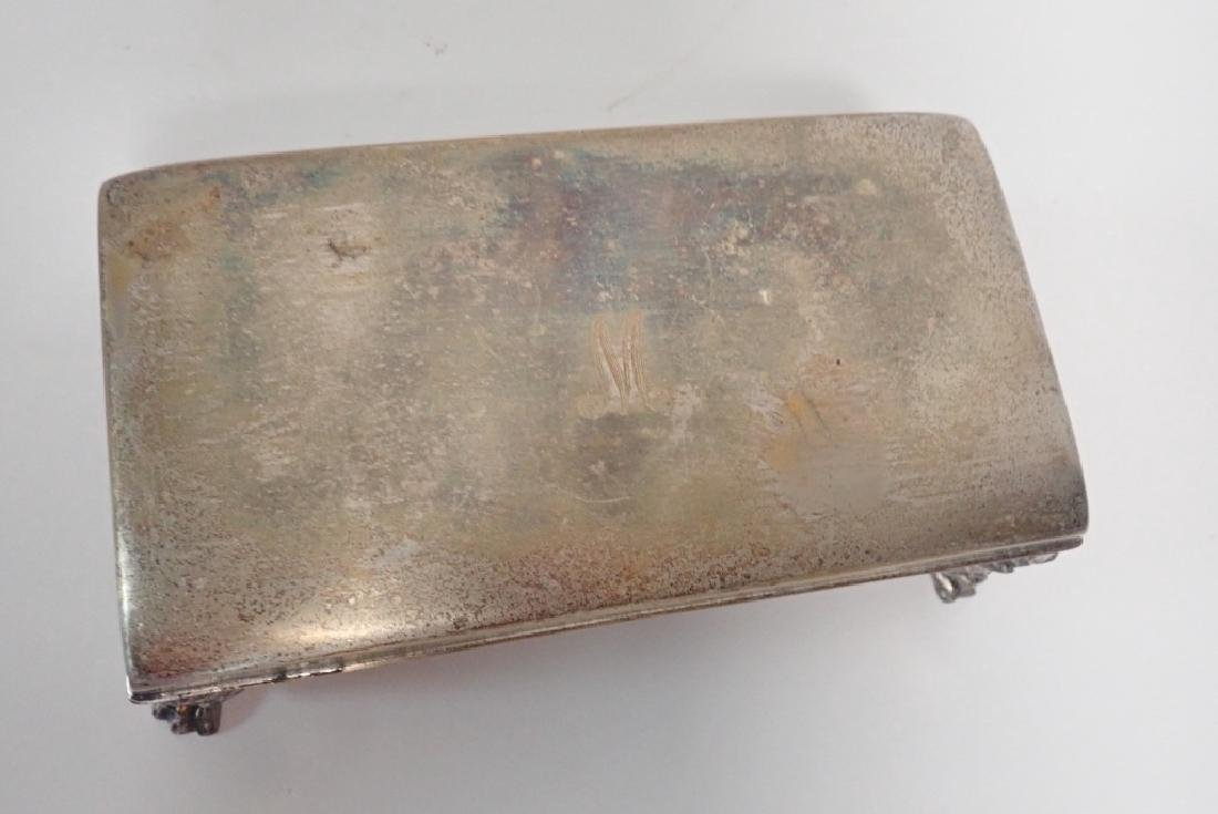 Four Assorted Decorative Metal Boxes - 6