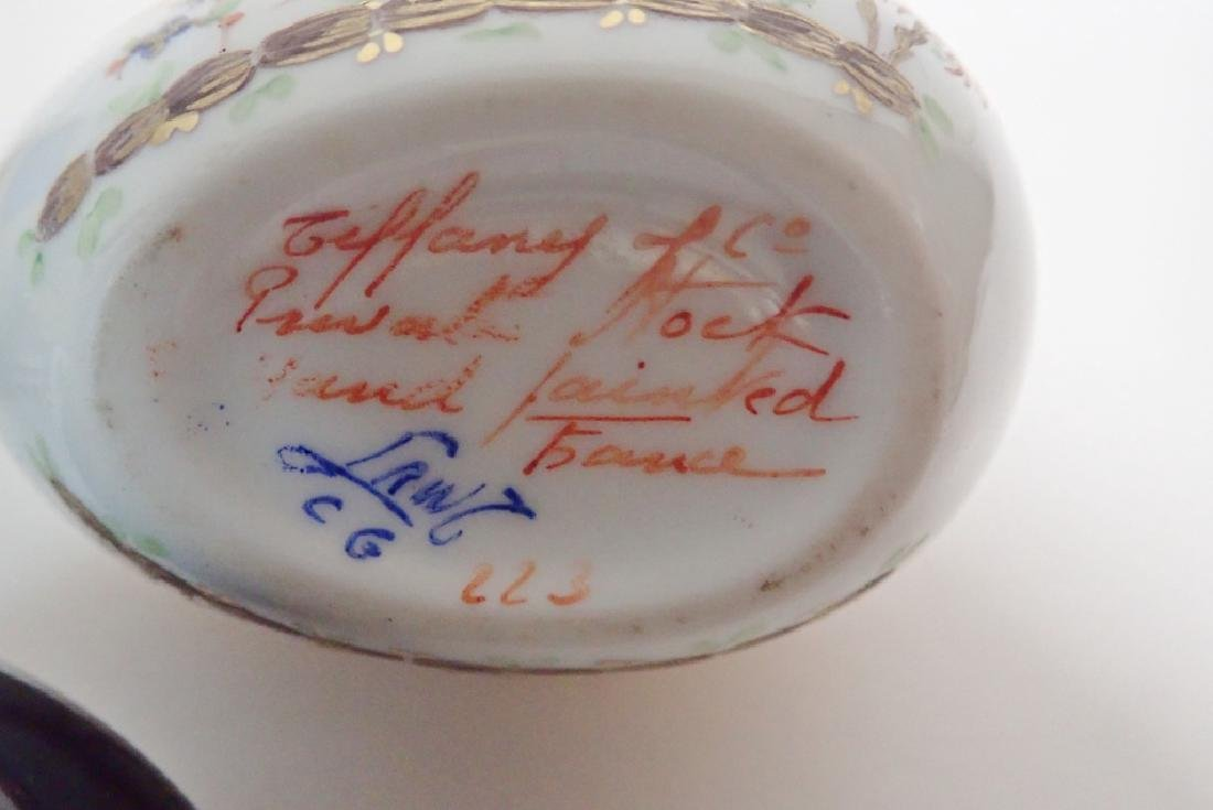 Collection of Hand Painted Porcelain Boxes - 4