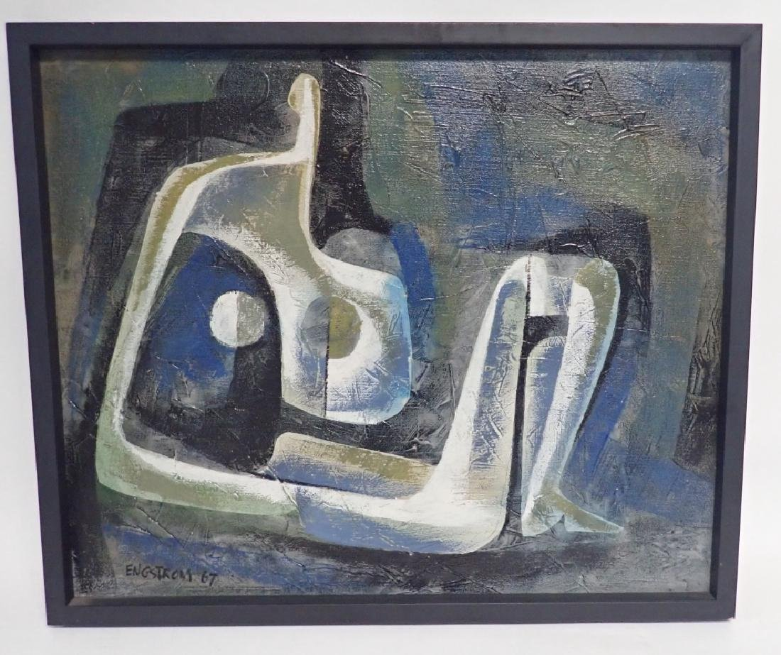 Martin Engstrom (born 1952) Modern O/C
